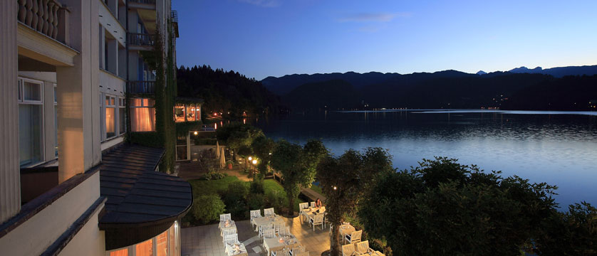 Grand Hotel Toplice, Bled, Slovenia - view from the balcony.jpg